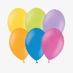Balony 35cm metalik mix 100szt