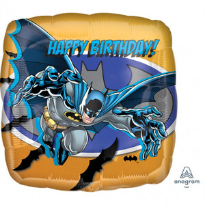 Balon foliowy 45 cm Batman Happy birthday