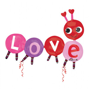 Balon foliowy Multi Balloon Love Bug