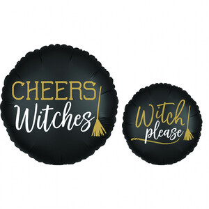 Balon foliowy 45 cm Cheers Witches